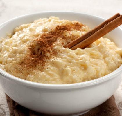 Cinnamon Rice Pudding Irish Kidney DIet