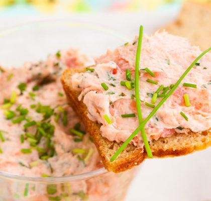 Salmon and Chive Pate Irish Kidney Diet