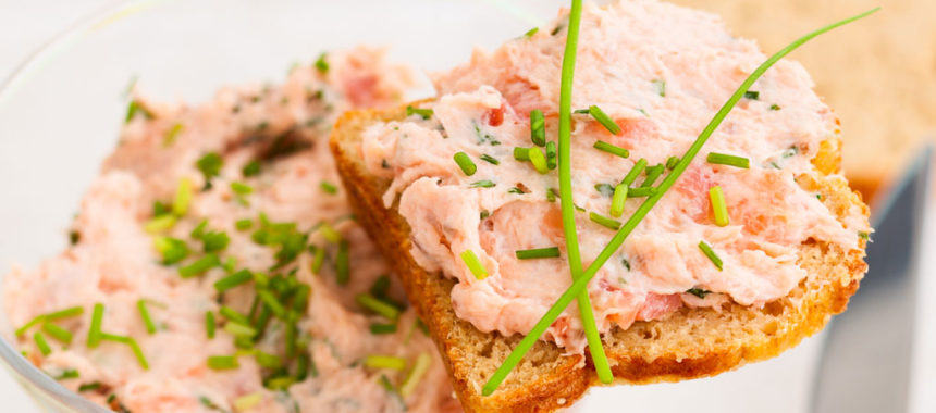 Salmon and Chive Pate