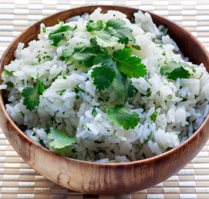 Fragrant Rice and Coriander Irish Kidney Diet